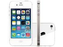 "iPhone 4s Apple 8GB 3G iOS 7 Tela 3,5"" Wi-Fi - Câmera 8MP Grava em HD GPS Proc. A5 Desbl. TIM"