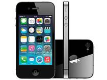 "iPhone 4s Apple 8GB 3G iOS 8 Tela 3.5"" Wi-Fi - Câmera 8MP Grava em HD + Frontal GPS - Preto"