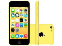 "iPhone 5c Apple 8GB 4G iOS 8 Tela 4"" Wi-Fi - Câmera 8MP Grava em HD GPS Proc. A6 - Amarelo"