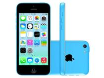 "iPhone 5c Apple 8GB 4G iOS 8 Tela 4"" Wi-Fi - Câmera 8MP Grava em HD GPS Proc. A6 - Azul"