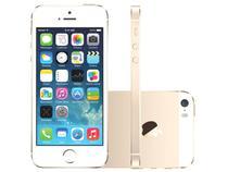 """iPhone 5S Apple 32GB 3G IOS 8 Tela 4"""" Wi-Fi  - Câmera 8MP Grava em HD Proc. M7 - Dourado"""