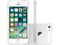 "iPhone 5s Apple 32GB Prata 3G Tela 4"" Retina  - Câmera 8MP iOS 10 Proc. M7 Touch ID"
