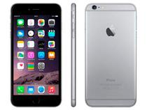 iPhone 6 Plus Apple 16GB Cinza Espacial 4G  - Tela 5.5 Câm. 8MP iOS 8 Proc. Chip A8