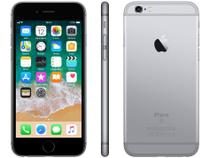 "iPhone 6S Apple 32GB Cinza Espacial 4G Tela 4.7"" - Retina Câm. 5MP  iOS 11 Proc. A9 Touch ID"