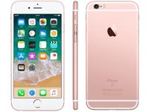 "iPhone 6S Apple 32GB Ouro Rosa 4G Tela 4.7"" - Retina Câm. 5MP iOS 11 Proc. A9 Touch ID"