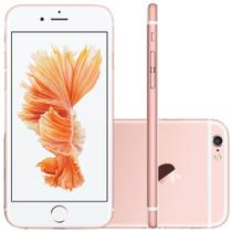 iPhone 6s Apple 4G iOS 11 32GB Câmera 12MP Tela Retina HD com 3D 4.7 Rosa