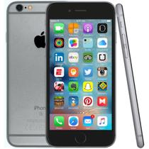 Iphone 6s plus  32gb tela 5 , 3d touch , ios 11 , camera 12mp  cinza espacial importado