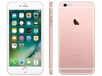 "iPhone 6s Plus Apple 128GB Ouro Rosa 4G Tela 5.5"" - Retina Câm. 12MP + Selfie 5MP iOS 10 Proc. Chip A9"