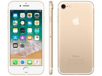 "iPhone 7 Apple 128GB Dourado 4G Tela 4.7"" Retina - Câm. 12MP + Selfie 7MP iOS 11 Proc. Chip A10"