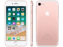 "iPhone 7 Apple 128GB Ouro Rosa 4G Tela 4.7"" Retina - Câm. 12MP + Selfie 7MP iOS 11 Proc. Chip A10"