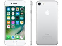 """iPhone 7 Apple 128GB Prateado 4G 4.7"""" Retina - Câm. 12MP + Selfie 7MP iOS 10 Proc. Chip A10"""