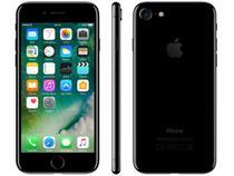 "iPhone 7 Apple 128GB Preto Brilhante 4G Tela 4.7"" - Retina Câm. 12MP + Selfie 7MP iOS 10"