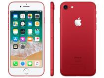 "iPhone 7 Apple 128GB RED Special Edition 4G - Tela 4.7"" Câm. 12MP + Selfie 7MP iOS 11"