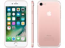 "iPhone 7 Apple 256GB Ouro Rosa 4G Tela 4.7"" Retina - Câm. 12MP + Selfie 7MP iOS 10 Proc. Chip A10"