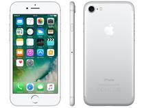 "iPhone 7 Apple 256GB Prateado 4G Tela 4.7"" Retina - Câm. 12MP + Selfie 7MP iOS 10 Proc. Chip A10"