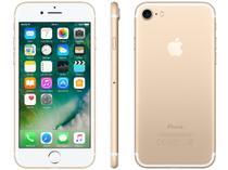 """iPhone 7 Apple 32GB Dourado 4G Tela 4.7"""" Retina - Câm. 12MP + Selfie 7MP iOS 10 Proc. Chip A10"""