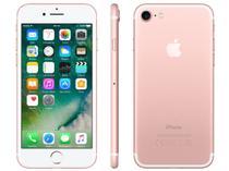 "iPhone 7 Apple 32GB Ouro Rosa 4G Tela 4.7"" Retina - Câm. 12MP + Selfie 7MP iOS 10 Proc. Chip A10"