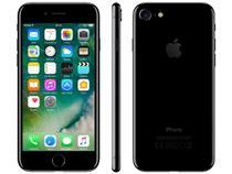 "iPhone 7 Apple 32GB Preto Brilhante 4G Tela 4,7"" - Retina Câm 12MP + Selfie 7MP iOS 11 Proc. Chip A10"