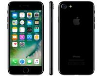 "iPhone 7 Apple 32GB Preto Brilhante 4G Tela 4,7"" - Retina Câm 12MP + Selfie 7MP iOS 11 Proc. Chip A10"