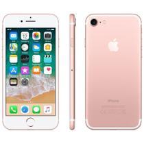 """Iphone 7 Apple, Ouro Rosa, Tela 4.7"""", 4G+WiFi, IOS 11, 12MP, 128GB -"""