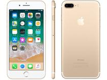 "iPhone 7 Plus Apple 128GB Dourado 4G Tela 5.5"" - Câm. 12MP + Selfie 7MP iOS 11 Proc. Chip A10"