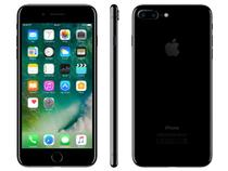 "iPhone 7 Plus Apple 128GB Preto Brilhante 4G - Tela 5.5"" Câm. 12MP + Selfie 7MP iOS 10"