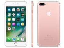"iPhone 7 Plus Apple 256GB Ouro Rosa 4G Tela 5.5""  - Câm. 12MP + Selfie 7MP iOS 10 Proc. Chip A10"
