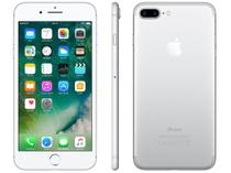 "iPhone 7 Plus Apple 256GB Prateado 4G Tela 5.5"" - Retina Câm. 12MP + Selfie 7MP iOS 10"