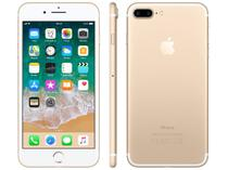 "iPhone 7 Plus Apple 32GB Dourado 4G Tela 5.5"" - Câm. 12MP + Selfie 7MP iOS 11 Proc. Chip A10"