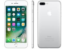 "iPhone 7 Plus Apple 32GB Prateado 4G Tela 5.5"" - Câm. 12MP + Selfie 7MP iOS 10 Proc. Chip A10"