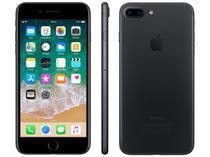 "iPhone 7 Plus Apple 32GB Preto Matte 4G Tela 5.5"" - Câm. 12MP + Selfie 7MP iOS 11 Proc. Chip A10"