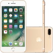 """iPhone 7 Plus Apple Desbloqueado Tela 5,5"""" 128GB 4G iOS 10 Dourado -"""