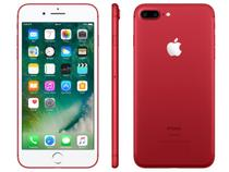 """iPhone 7 Plus Red Special Edition Apple 256GB - 4G 5.5"""" Câm. 12MP + Selfie 7MP iOS 10"""