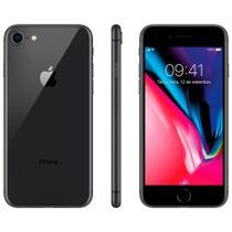 "iPhone 8 128GB Cinza Espacial Tela 4.7"" IOS 11 4G Wi-Fi Câmera 12MP - Apple -"