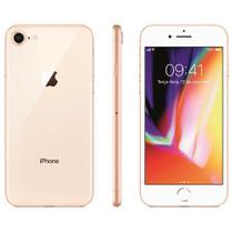 "iPhone 8 128GB Dourado Tela 4.7"" IOS 11 4G Wi-Fi Câmera 12MP - Apple -"
