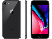 "iPhone 8 Apple 128GB Cinza Espacial 4G Tela 4,7"" - Retina Câmera 12MP + Selfie 7MP iOS 13"