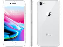 "iPhone 8 Apple 256GB Prata 4G Tela 4,7"" - Retina Câm. 12MP + Selfie 7MP iOS 11"