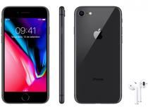 "iPhone 8 Apple 64GB Cinza Espacial 4G Tela 4,7"" - Câm. 12MP + Selfie 7MP + AirPods"