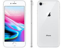 "iPhone 8 Apple 64GB Prata 4G Tela 4,7"" - Retina Câm. 12MP + Selfie 7MP iOS 11"
