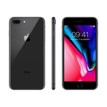 Iphone 8 plus 64gb ios 12 12mp+12mp selfie 7mp tela 5.5 3gb ram cinza espacial