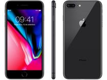 "iPhone 8 Plus Apple 64GB Cinza Espacial 4G - Tela 5,5"" Retina Câmera 12MP iOS 11 Proc. A11"