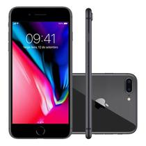 Iphone Apple 8 Plus Tela 5.5 64GB Single IOS 11 MQ8L2BRA -