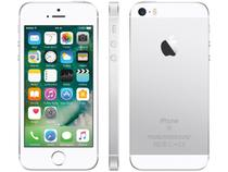 "iPhone SE Apple 16GB Prateado 4G Tela 4"" - Retina Câm. 12MP iOS 10 Proc. Chip A9 Touch ID"