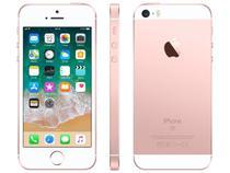 "iPhone SE Apple 32GB Ouro Rosa 4G Tela 4"" - Retina Câm. 12MP iOS 11 Proc. Chip A9 Touch ID"