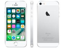 "iPhone SE Apple 32GB Prateado 4G Tela 4"" - Retina Câm. 12MP iOS 10 Proc. Chip A9 Touch ID"