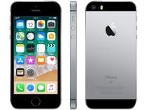 "iPhone SE Apple 64GB Cinza Espacial 4G Tela 4"" - Retina Câm. 12MP iOS 11 Proc. Chip A9 Touch ID"