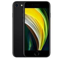 """iPhone SE Preto, com Tela de 4,7"""", 4G, 256 GB e Câmera de 12 MP - MHGW3BR/A - Apple"""
