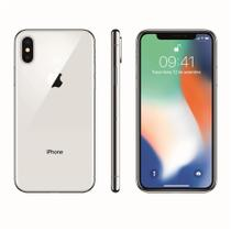 Iphone x apple mqad2bz/a prateado 64 gb