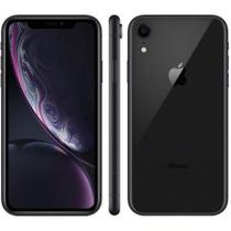 "iPhone XR  128GB Preto 4G Tela 6,1"" Retina - Câmera 12MP + Selfie 7MP -Apple- iOS 12 A12 Bionic Chip"