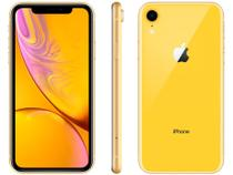 "iPhone XR Apple 256GB Amarelo 4G Tela 6,1"" Retina - Câmera 12MP + Selfie 7MP iOS 12 A12 Bionic Chip"